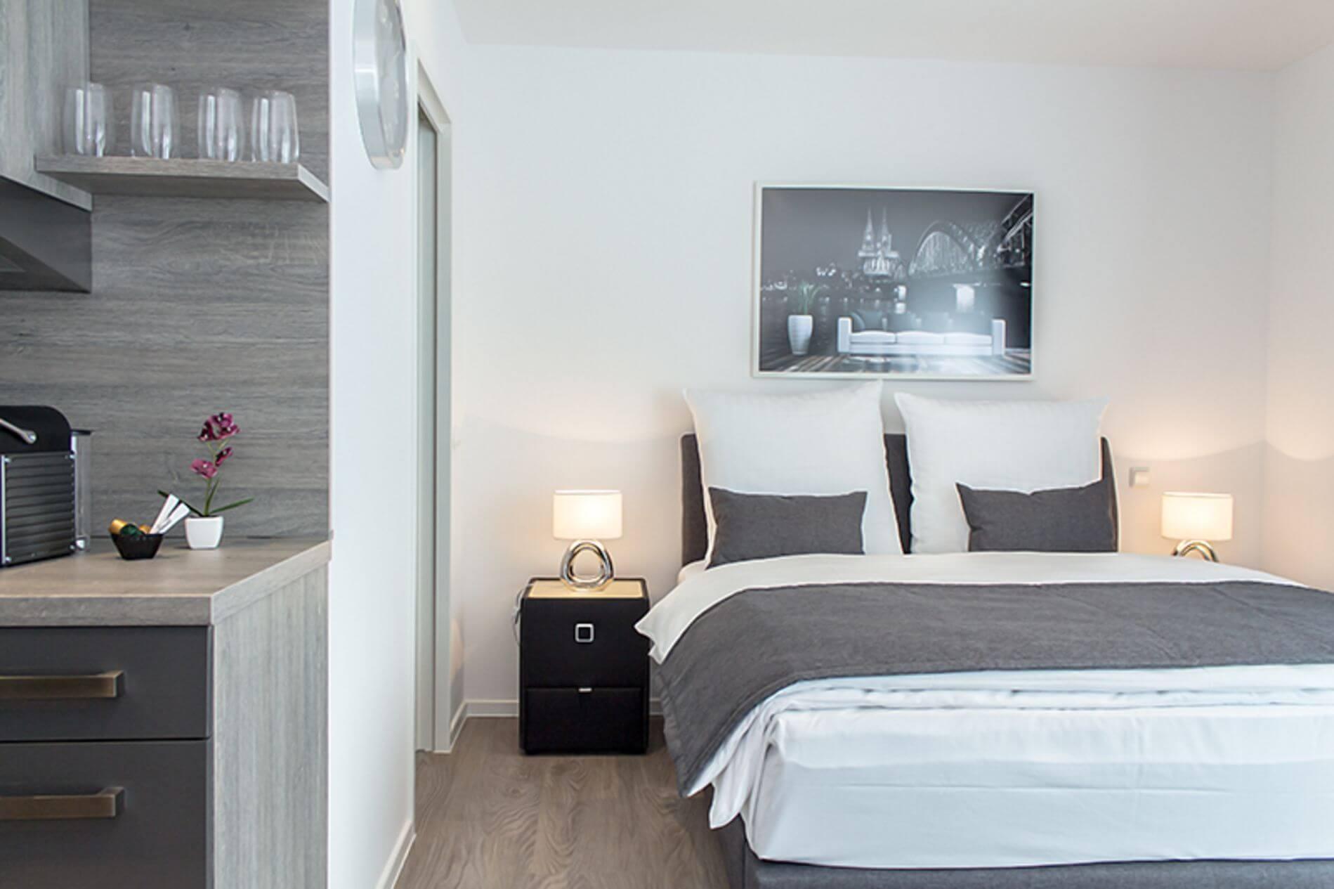 Studio apartment for rent in Cologne Friesenplatz