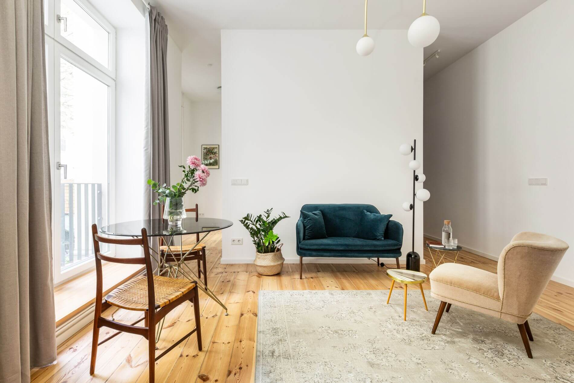 Furnished property in Berlin that can be booked instantly