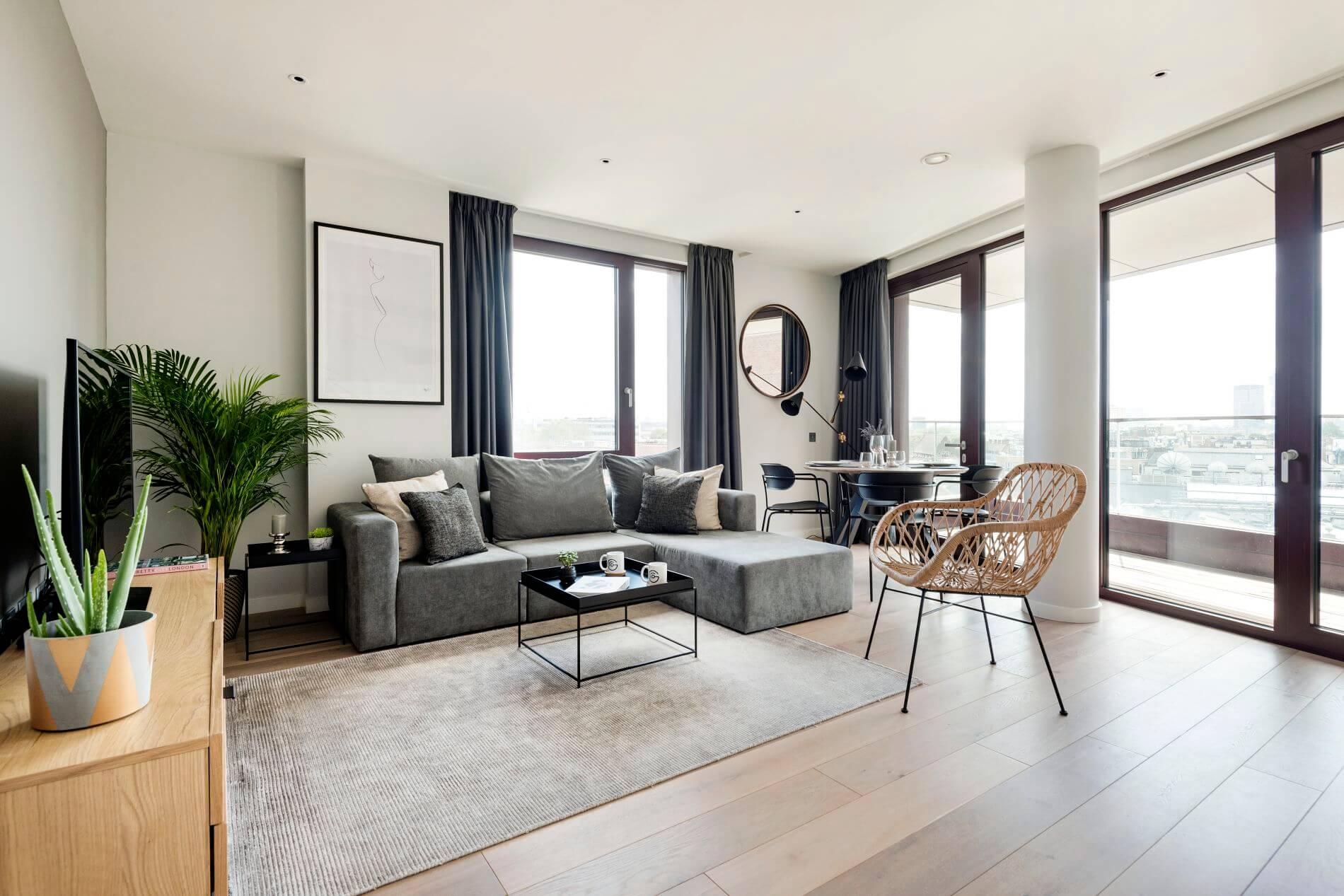 Furnished luxury apartment in Camden Lock