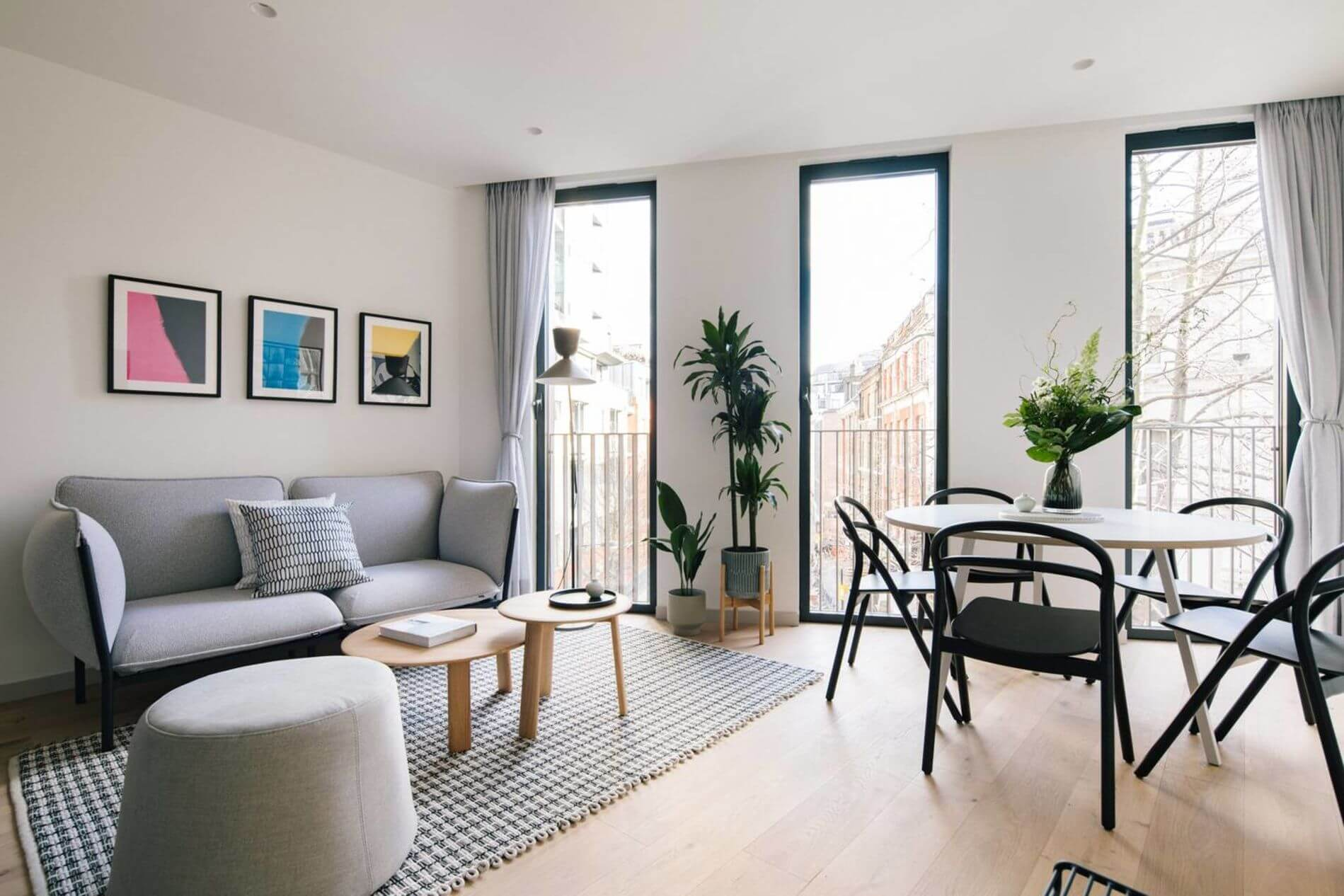 Fully furnished luxury apartment in Fitzrovia, London for short stays
