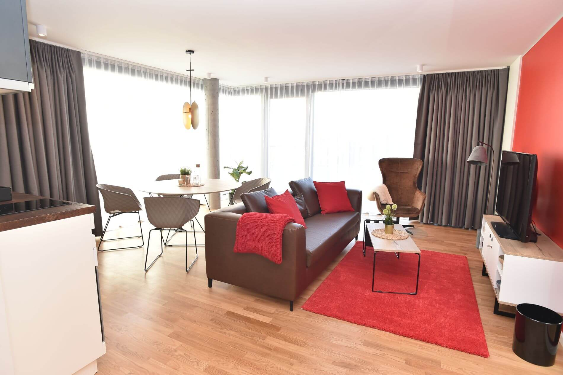Spacious furnished apartment in Berlin that allows pets