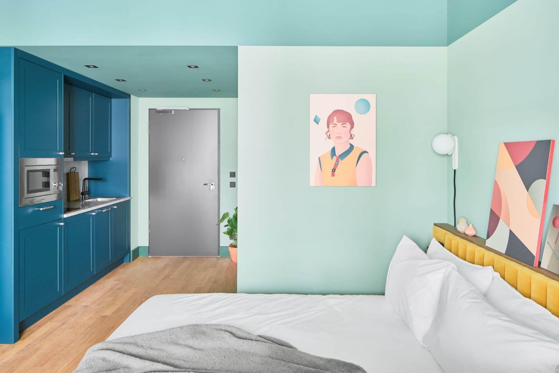 Studio apartment for rent in Munchen