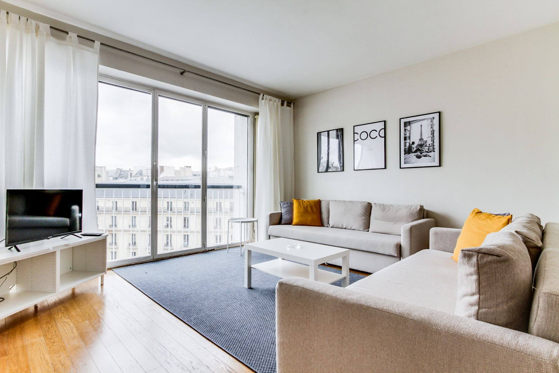 Furnished family-friendly property in the 8th arrondissement of Paris