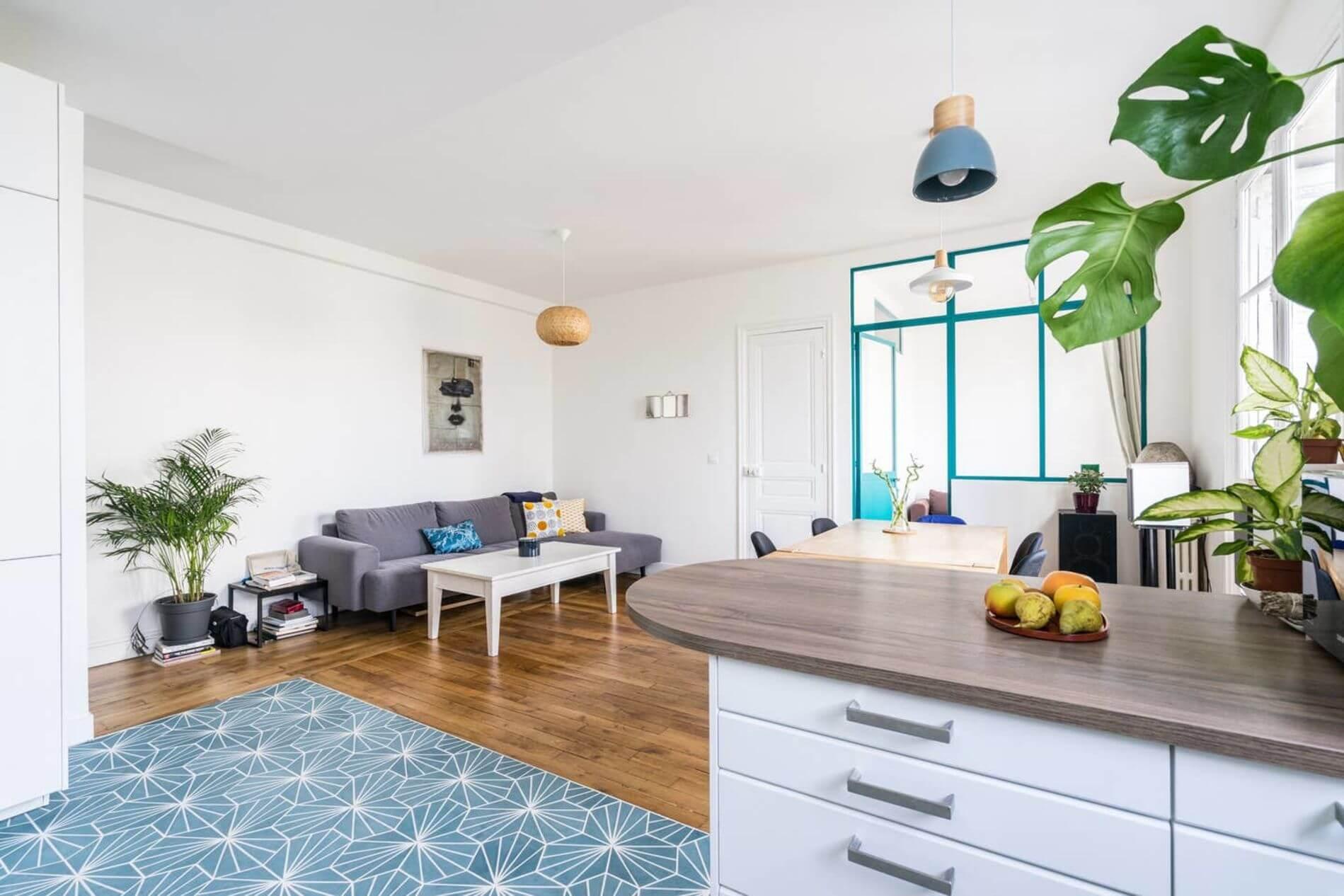Furnished modern loft in Paris
