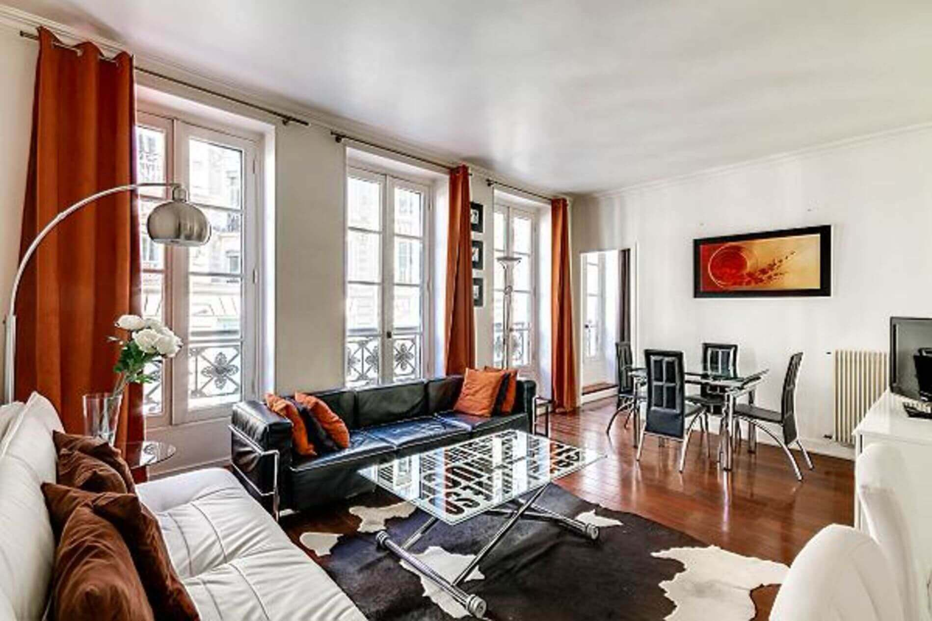 Furnished luxury rental in the 8th arrondissement