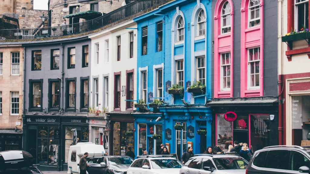 Best cities in the UK - Edinburgh