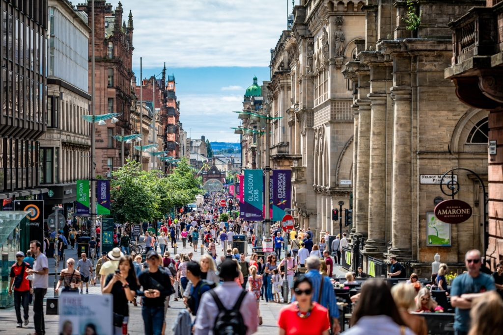 Best cities in the UK - Glasgow