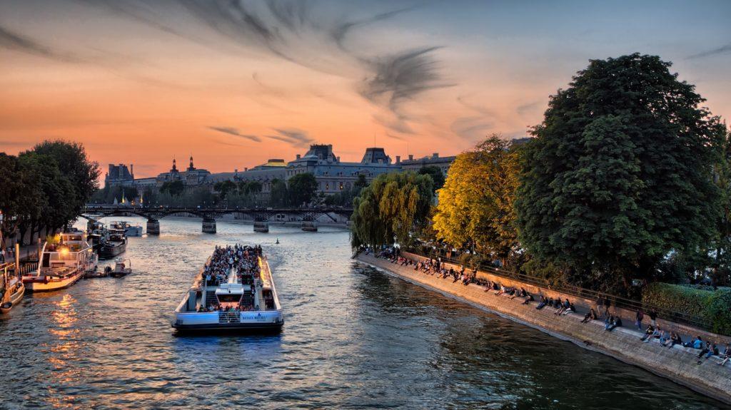 Rive Seine in Paris