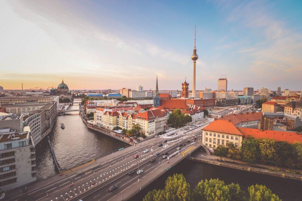 View of Berlin Mitte