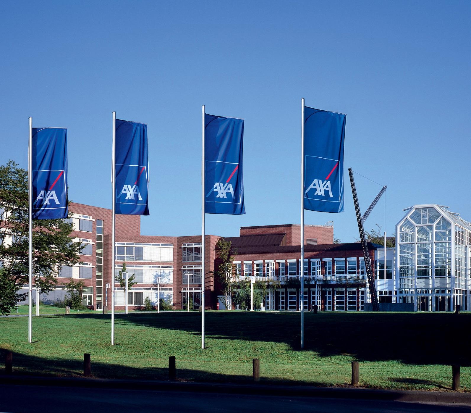 Hier würden Sie das Hauptverwaltungsgebäude von AXA sehen
