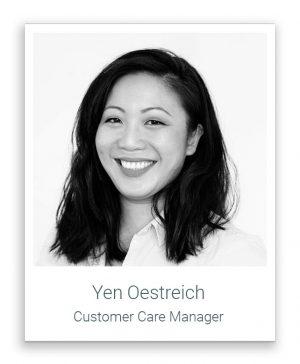 Hier würden Sie ein Foto unseres Customer Care Kontakts sehen