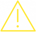 Hier würden Sie ein gelbes Ausrufezeichen in einem Dreieck sehen