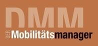 Hier würden Sie das Logo von DMM Der Möbilitätsmanager sehen, der Geschäftsreisen effizienter gestaltet.