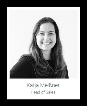 Hier würden Sie ein Bild der Homelike Mitarbeiterin Katja Meißner (Head of Sales) sehen