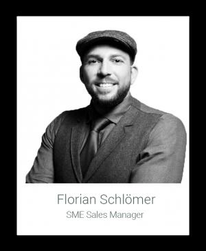 Hier würden Sie ein Bild der Homelike Mitarbeiterin Florian Schlömer (SME Sales Manager) sehen