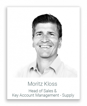 Head of Sales & Key Account Management, Supply - Moritz Kloss