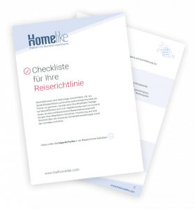 Reiserichtlinie Checkliste für Unternehmen